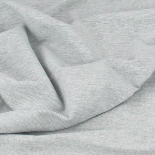 Eike: Brushed Heathered Sweatshirt, Light Grey