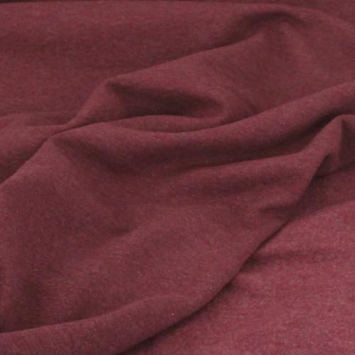 Eike: Brushed Heathered Sweatshirt, Bordeaux
