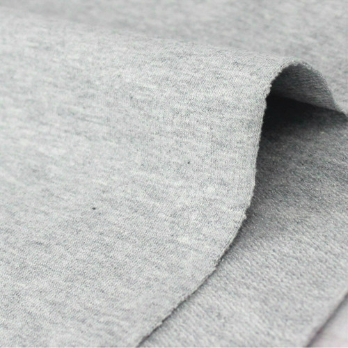 Maike:  Heathered French Terry, Light Grey