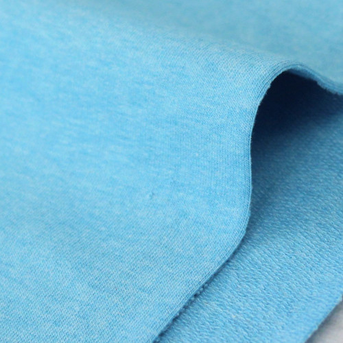 Maike:  Heathered French Terry, Turquoise
