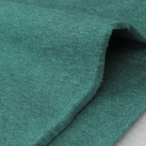 Maike:  Heathered French Terry, Winter Green