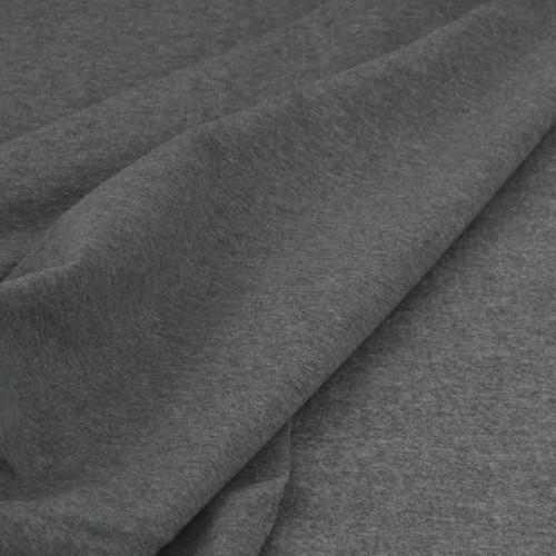 Eike: Brushed Heathered Sweatshirt, Meduim Grey