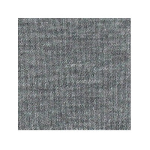ORGANIC!  Heathered Light Grey:  Jersey Knit