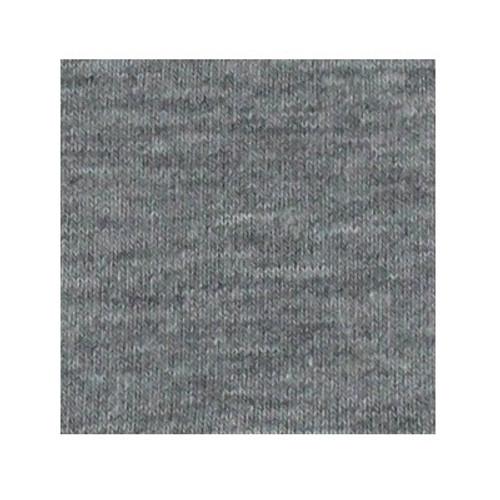 ORGANIC!  Heathered Light Grey:  Jersey Knit