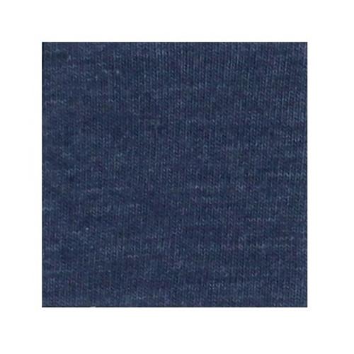ORGANIC!  Heathered Indigo:  Jersey Knit