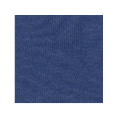 ORGANIC!  Heathered Blue:  Brushed French Terry, GOTS
