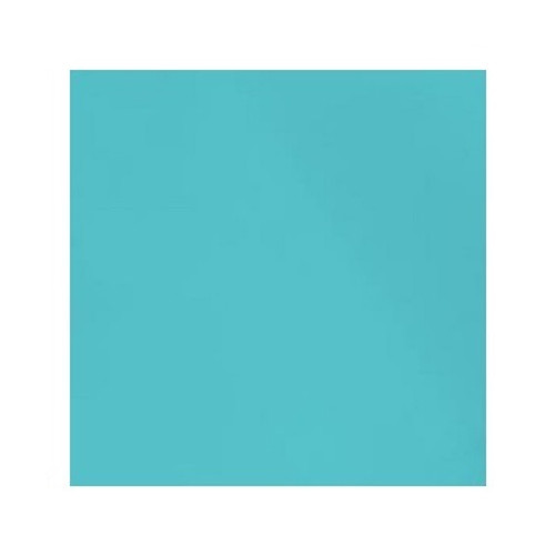 ORGANIC!  Bright Turquoise:  Ribbing, GOTS