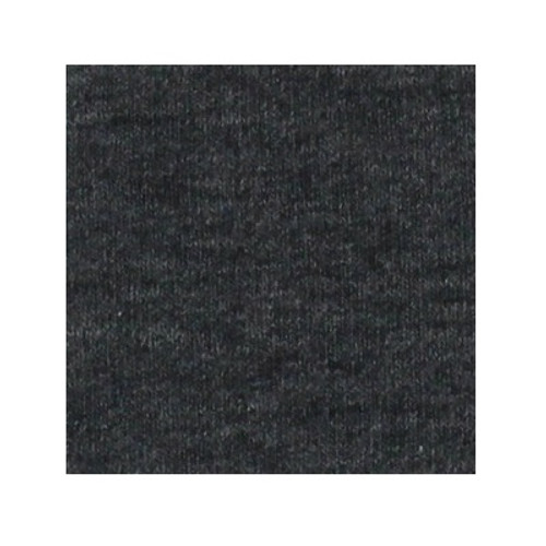 ORGANIC!  Heathered Grey:  French Terry, GOTS