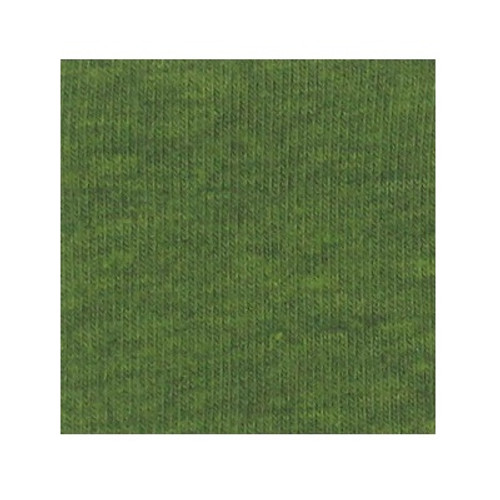 ORGANIC!  Heathered Green:  French Terry, GOTS
