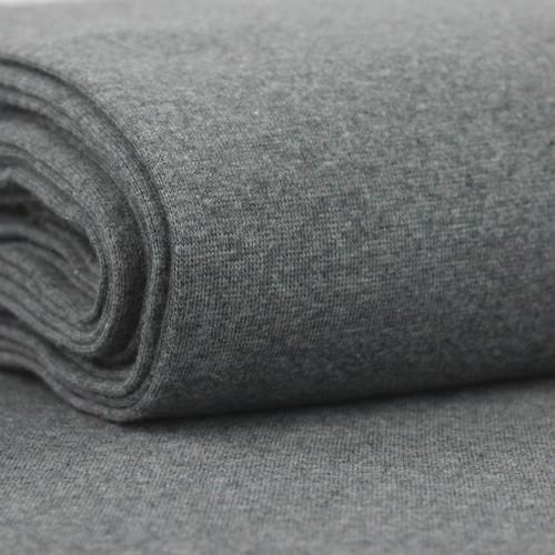 Heike: Heathered Ribbing, Medium Grey