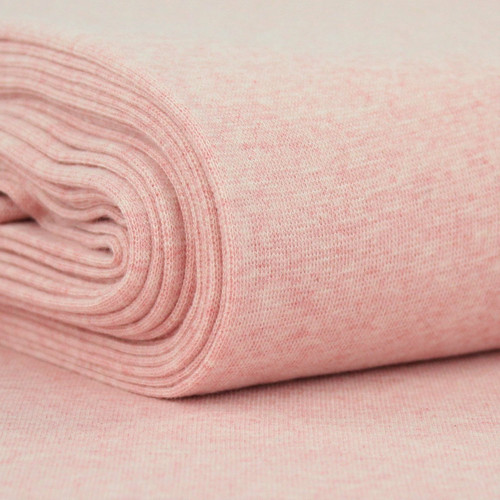 Heike: Heathered Ribbing, Pink