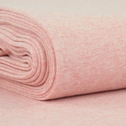 Heike: Heathered Ribbing, Pink