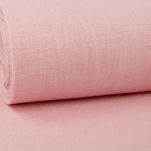 Linen 230g Enzyme Washed:  Pink