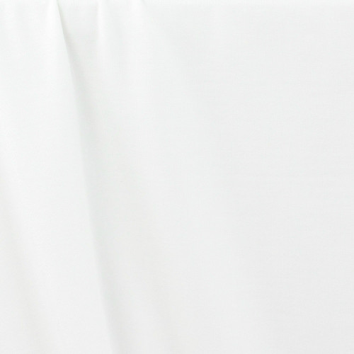 Modal Jersey Knit: Off White