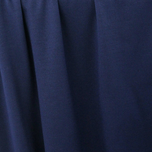 Modal Jersey Knit:  Navy