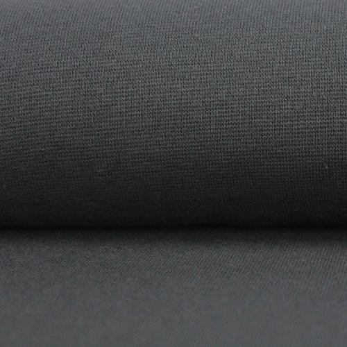 Heike: Solid Ribbing, Dark Grey
