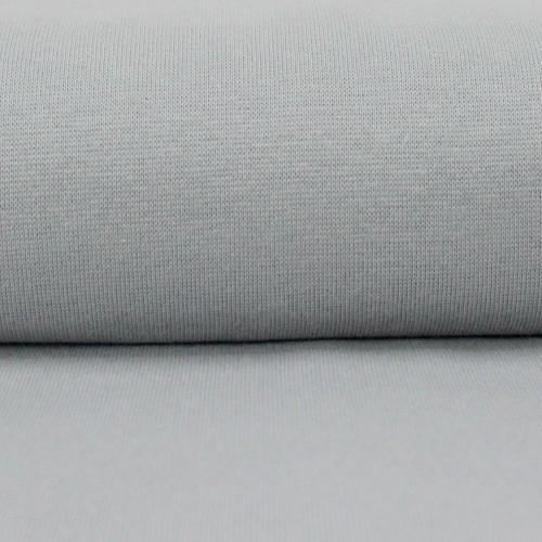 Heike: Solid Ribbing, Light Grey