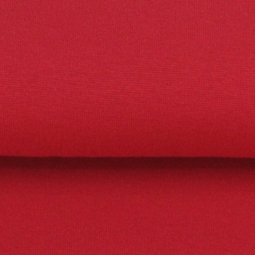 Heike: Solid Ribbing, Fire Engine Red