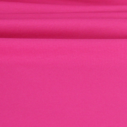 Maike:  Solid French Terry, Fuchsia