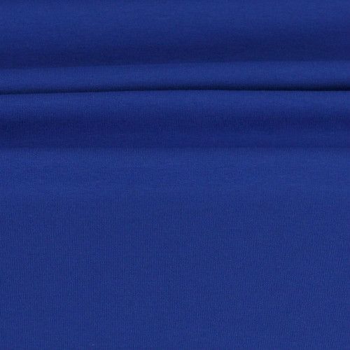 Maike:  Solid French Terry, Royal Blue