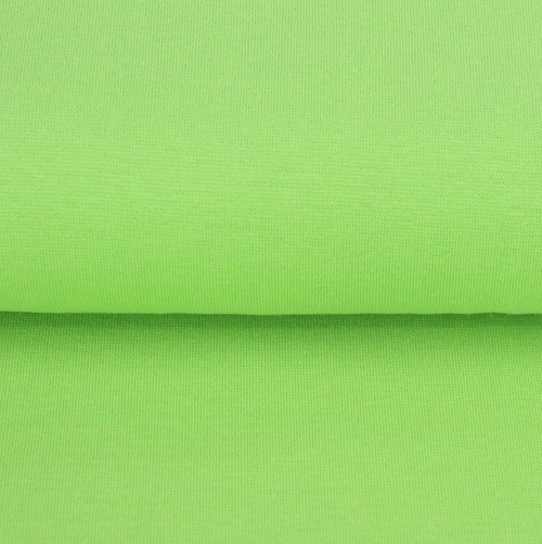 Heike: Solid Ribbing, Lime