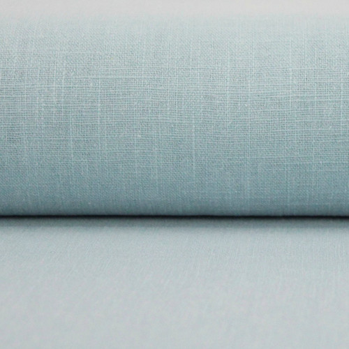 Linen 230g Enzyme Washed:  Soft Blue