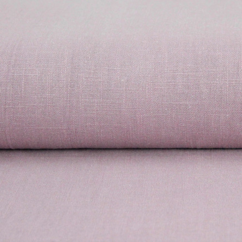 Linen 230g Enzyme Washed:  Rose