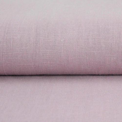 Linen 230g Enzyme Washed:  Rose