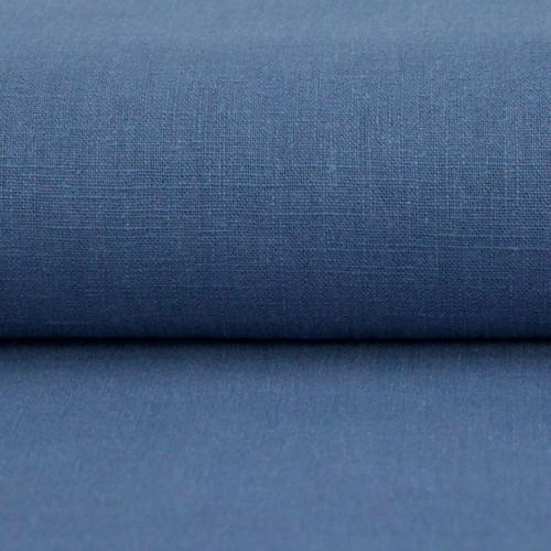 Linen 230g Enzyme Washed:  Denim Blue