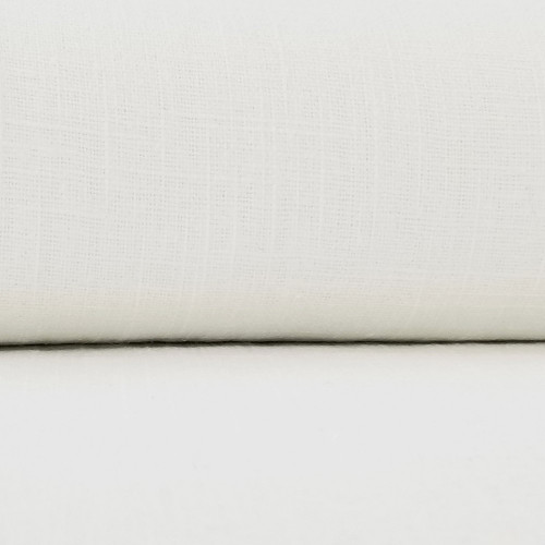 Linen 230g Enzyme Washed:  White