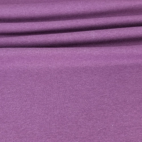 Maike:  Heathered French Terry, Plum