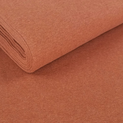 Heike: Heathered Ribbing, Terracotta