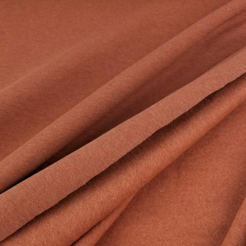 Eike: Brushed Heathered Sweatshirt, Terracotta