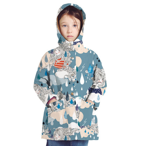 Kids Rain Mac: Paper Sewing Pattern from Katia