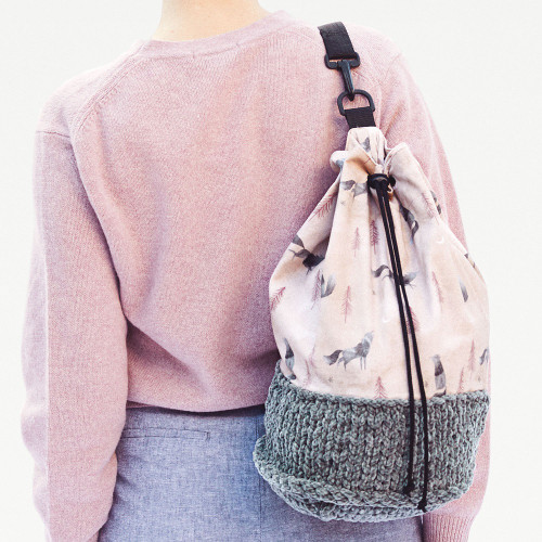 Combined Duffle Bag: Paper Sewing Pattern from Katia
