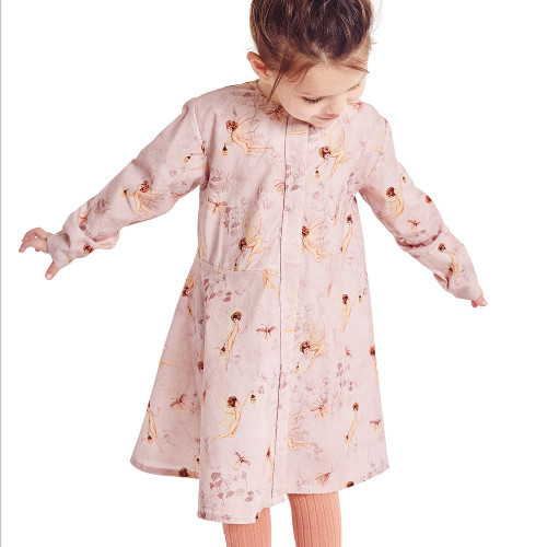 Little Poplin Dress: Paper Sewing Pattern from Katia
