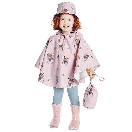Rain Cape &  Bag: Paper Sewing Pattern from Katia