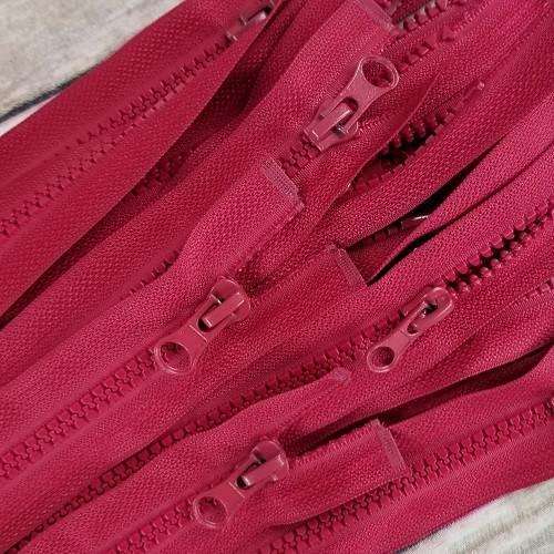75 cm Separable Zipper: Bordeaux