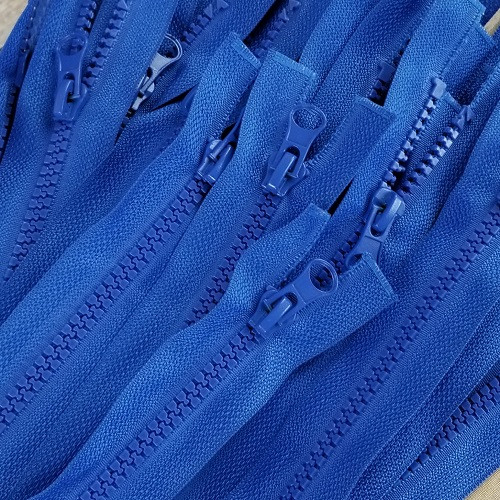 45 cm Separable Zipper: Royal Blue