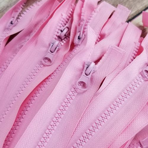 45 cm Separable Zipper:  Pink