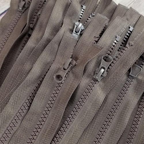 90 cm Separable Zipper:  Brown