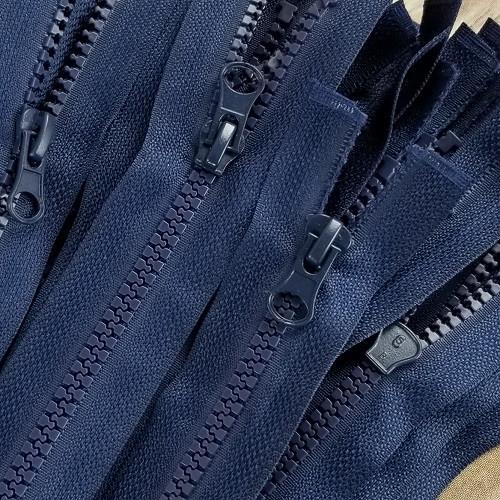 90 cm Separable Zipper:  Navy