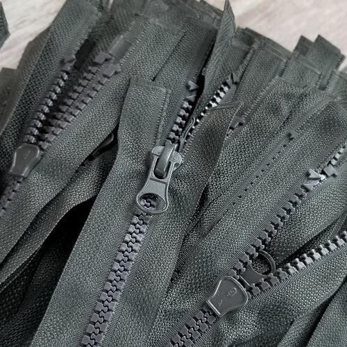 90 cm Separable Zipper:  Khaki