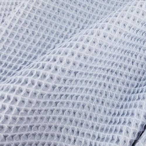Waffle Cotton:  Slate Blue