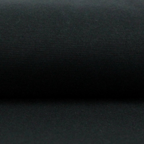 Heike: Solid Ribbing, Black