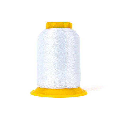 SOFTLOC Wooly Polyester Thread, Wonderfil: White