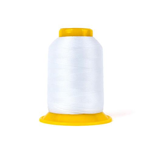 SOFTLOC Wooly Polyester Thread, Wonderfil: White