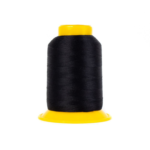 SOFTLOC Wooly Polyester Thread, Wonderfil: Black