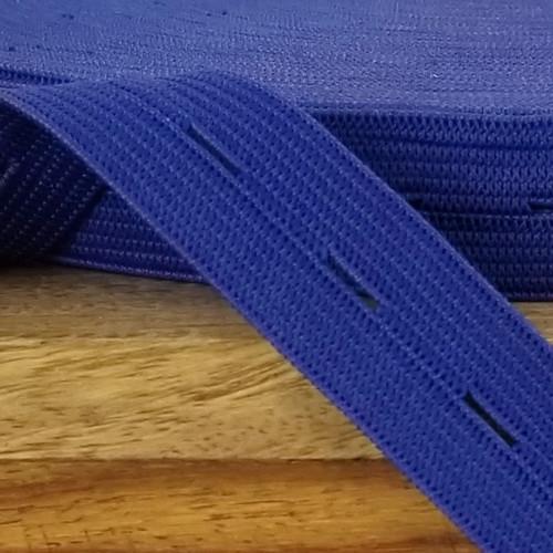 Buttonhole Elastic:  Purple