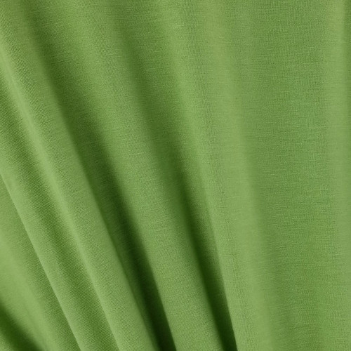 250 gsm Bamboo Jersey Knit:  Olive Green